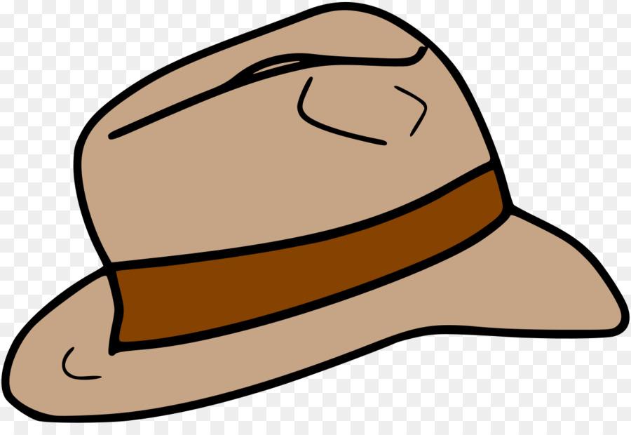 Fedora clipart indiana jones hat. Cartoon transparent clip art