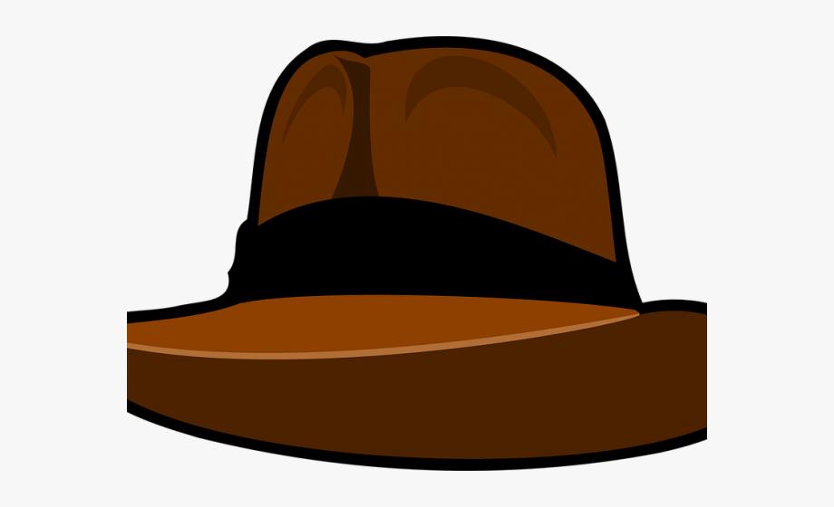 Chapeau clip art cliparts. Fedora clipart indiana jones hat