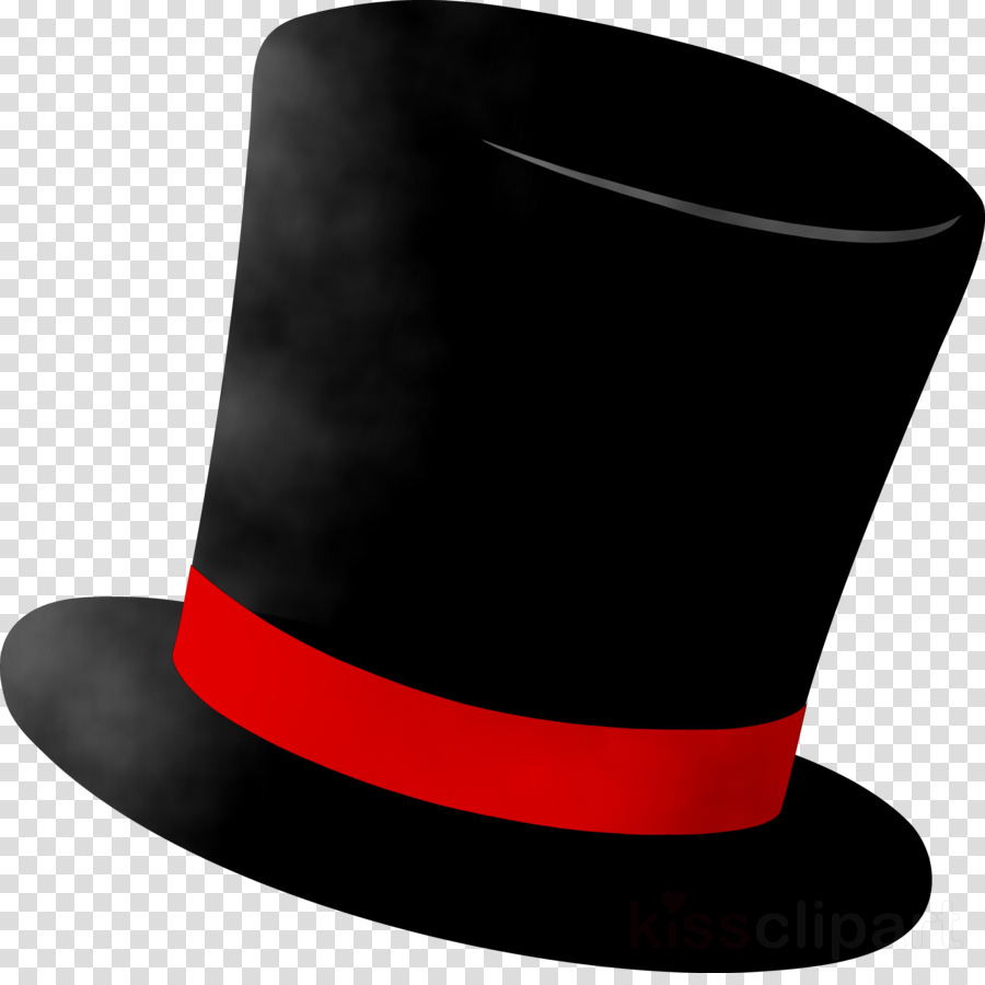Fedora clipart magic. Top hat cartoon clothing