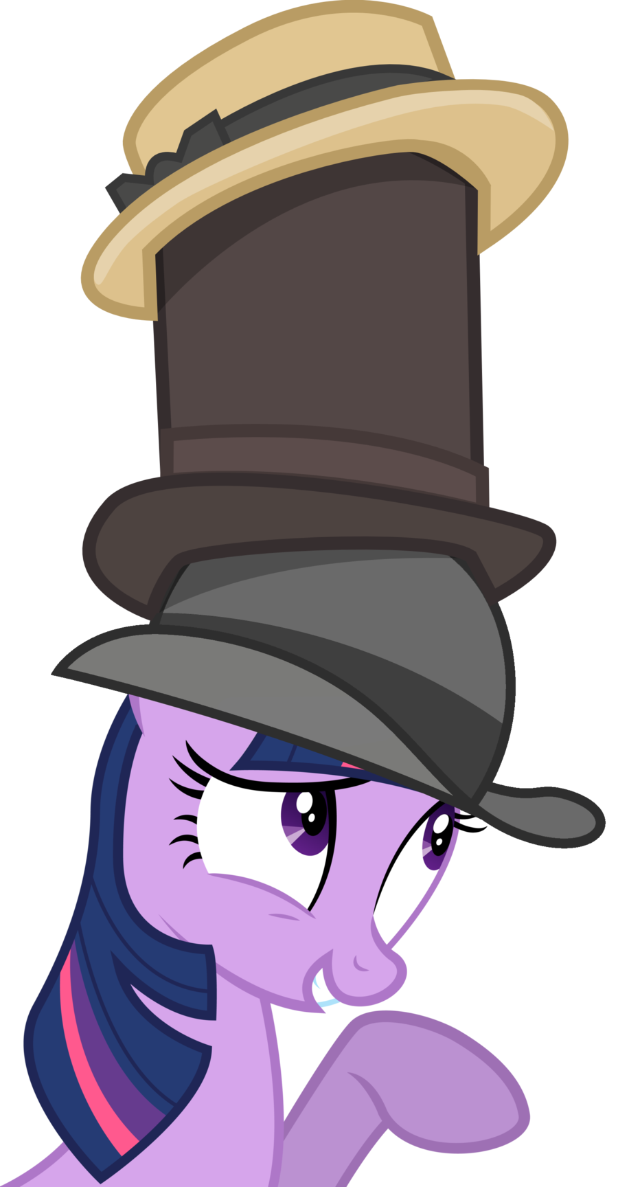 Fedora clipart magic. Image my little pony