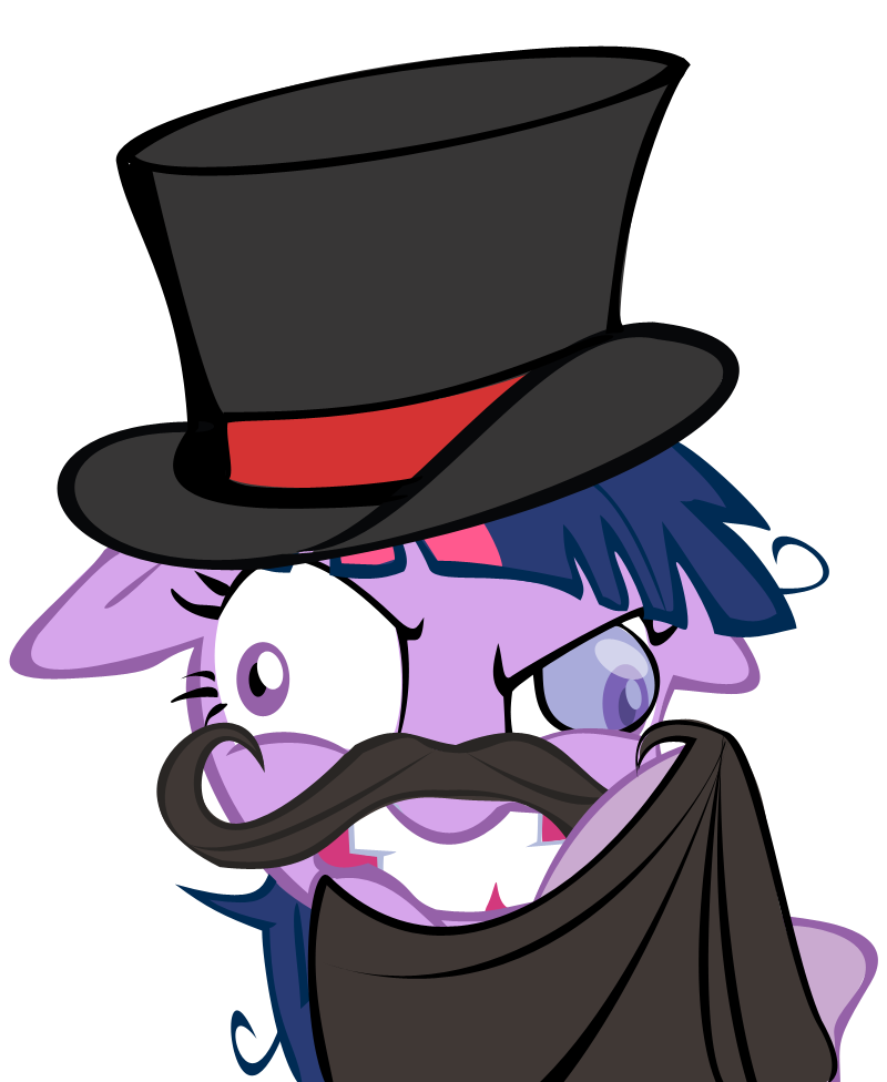 Image my little pony. Fedora clipart magic