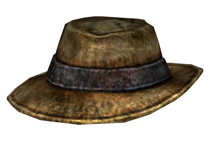 Image png fallout wiki. Fedora clipart man's hat