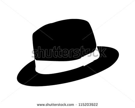 Image result for woman. Fedora clipart man's hat
