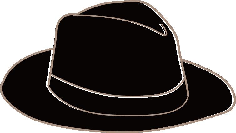Men s casual png. Fedora clipart man's hat