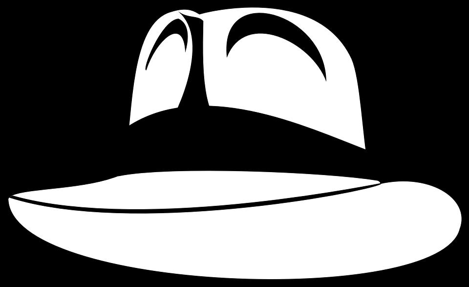 Fedora clipart mobster.  huge freebie download