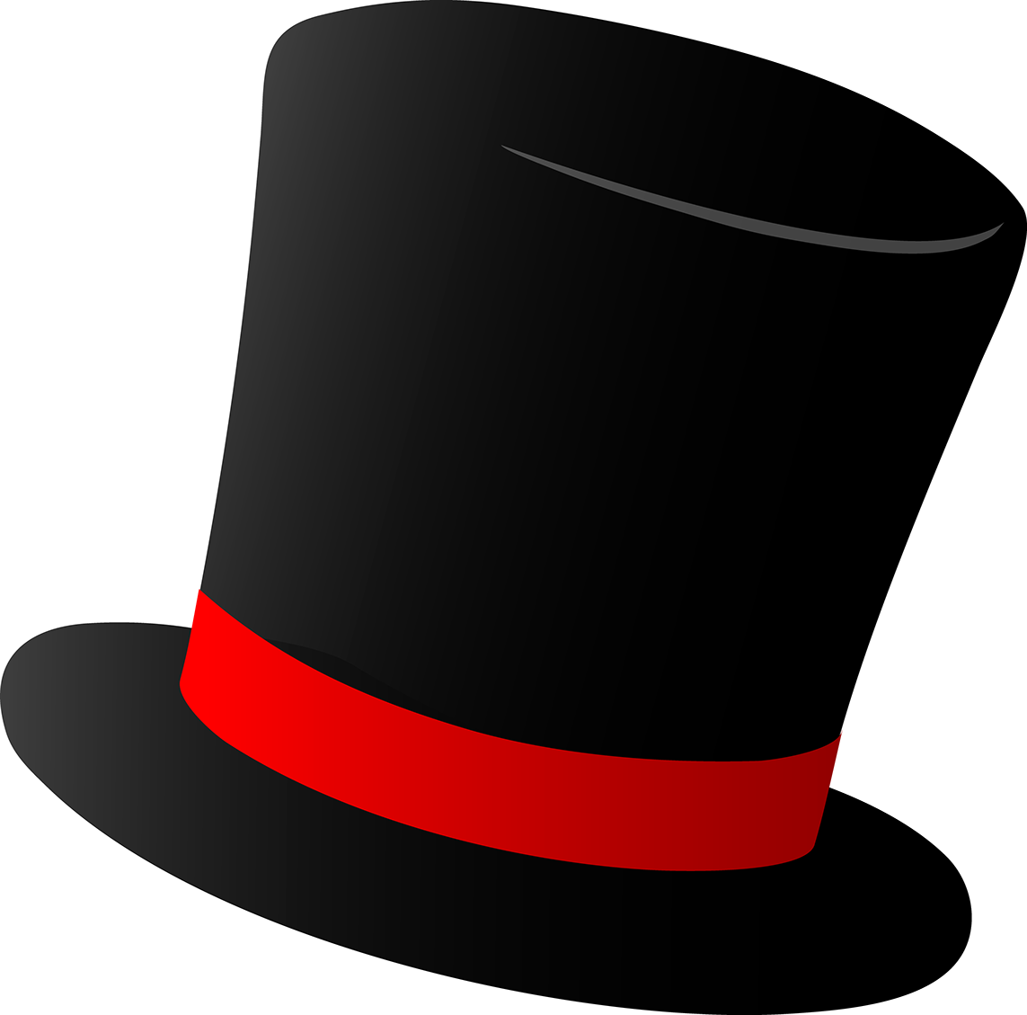 collection of hat. Magician clipart frosty
