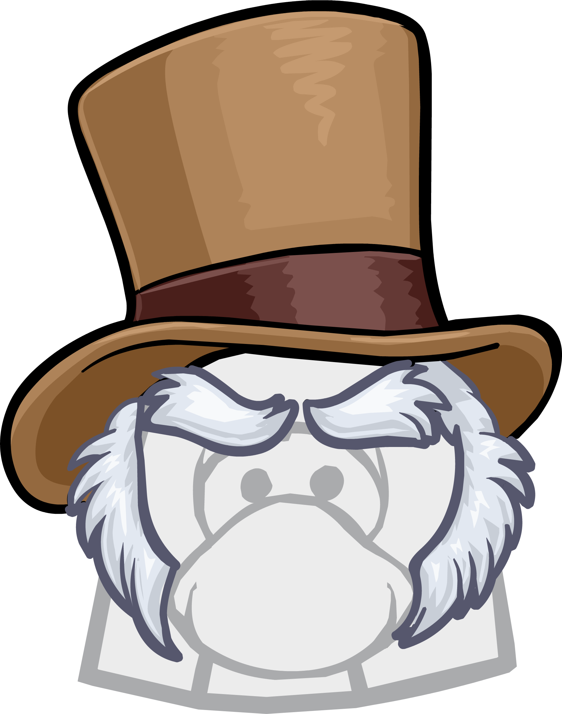 Humbug club penguin wiki. Fedora clipart press hat
