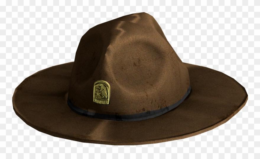 Fedora clipart ranger hat. New california republic rangers