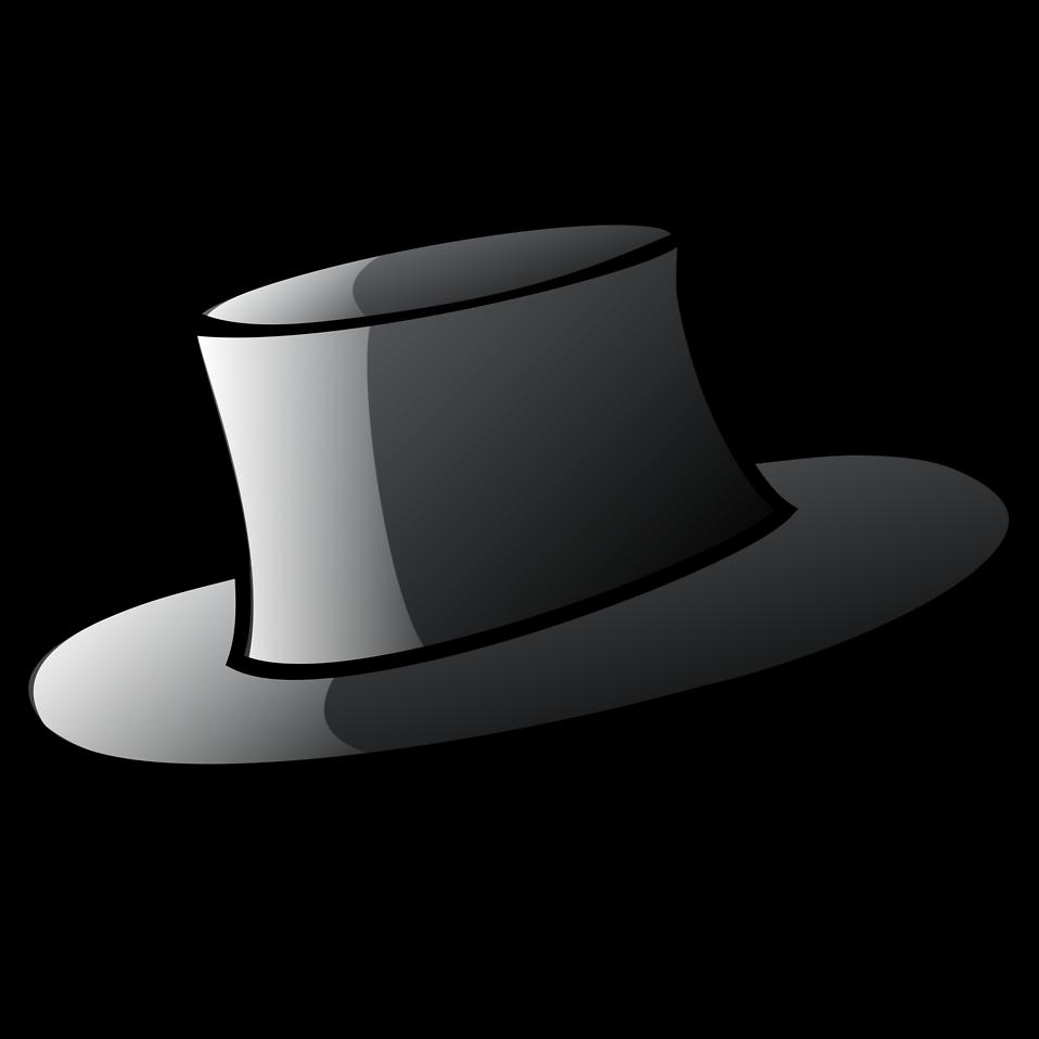 Fedora clipart small hat. Free stock photo illustration