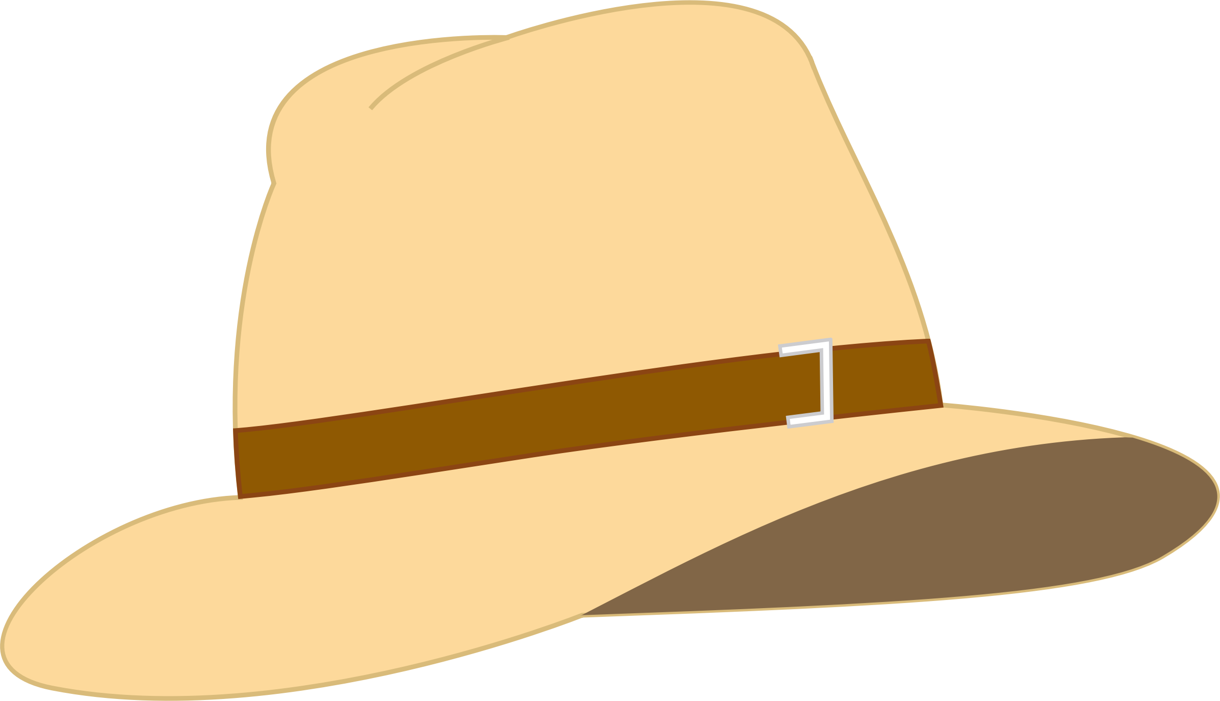 Beige big image png. Fedora clipart small hat