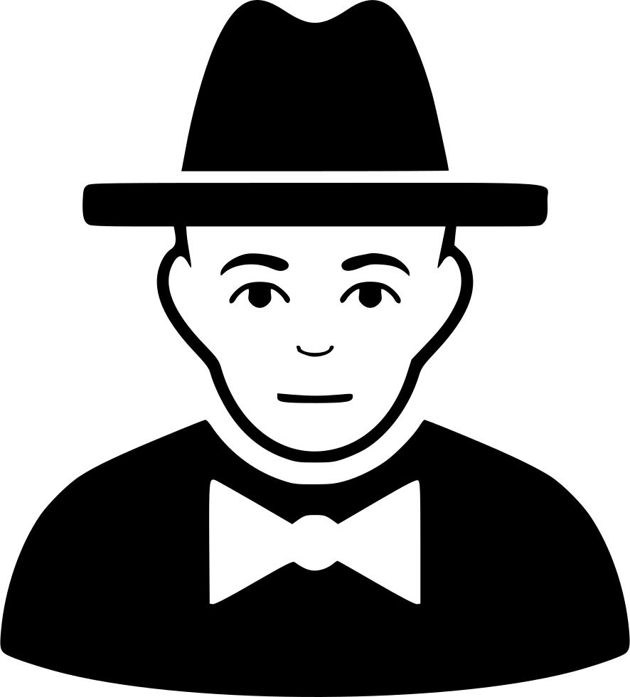 Svg png icon free. Fedora clipart spy hat