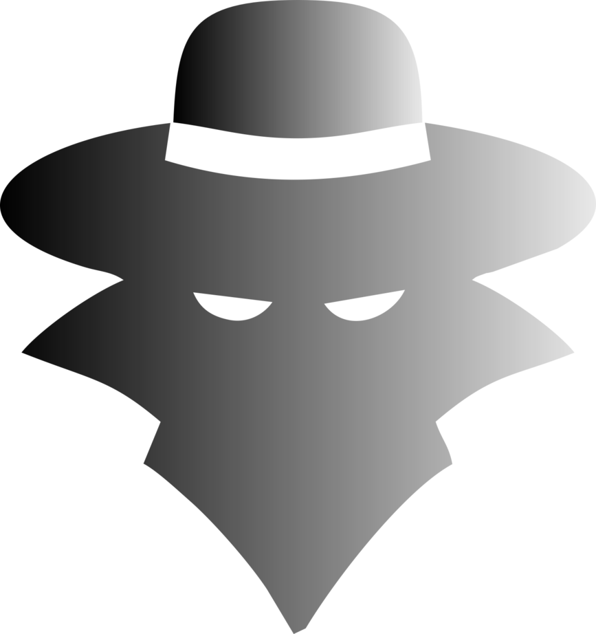 Fedora clipart spy hat. Commission battle bullet by