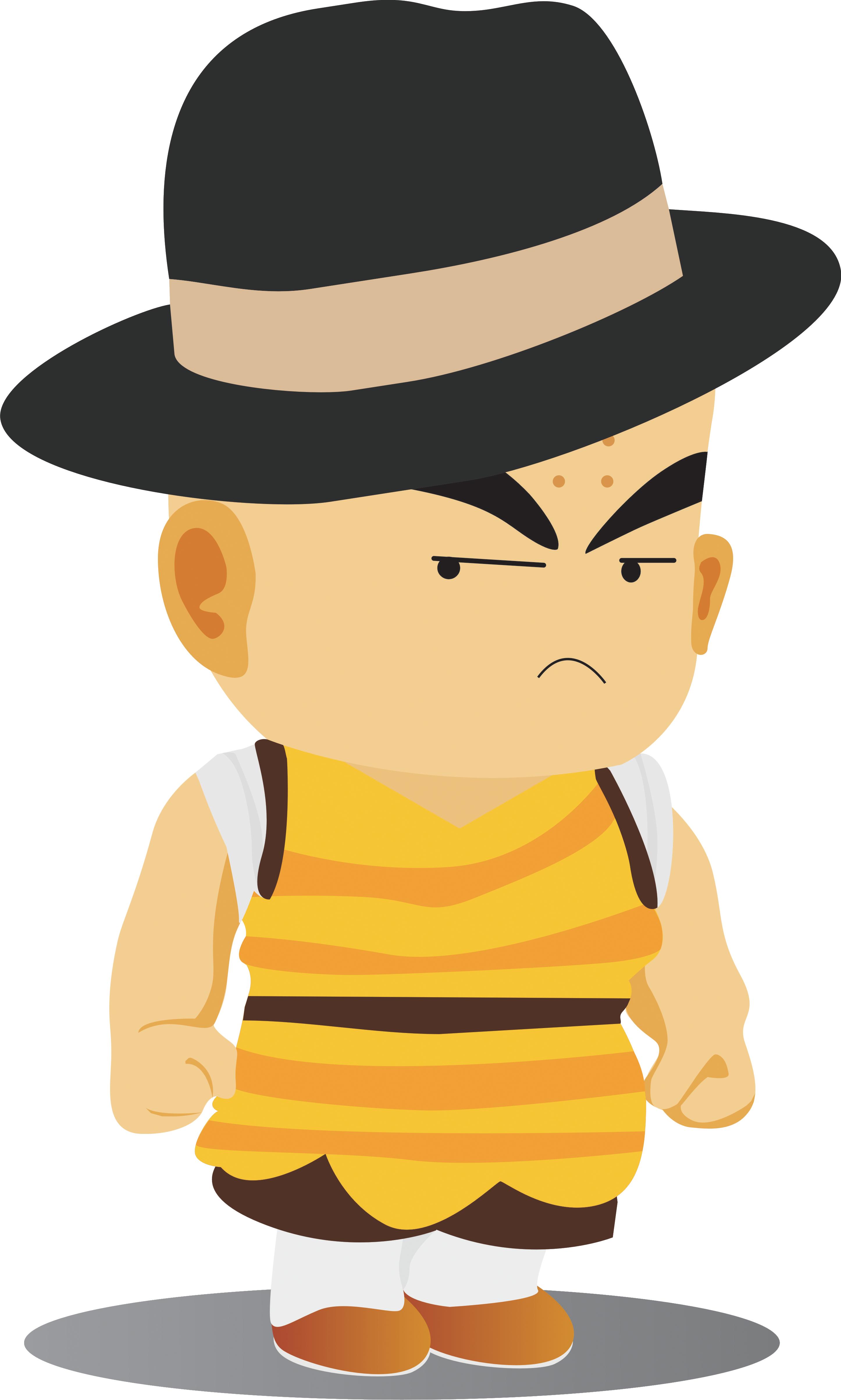 Fedora clipart spy hat. Monk company man
