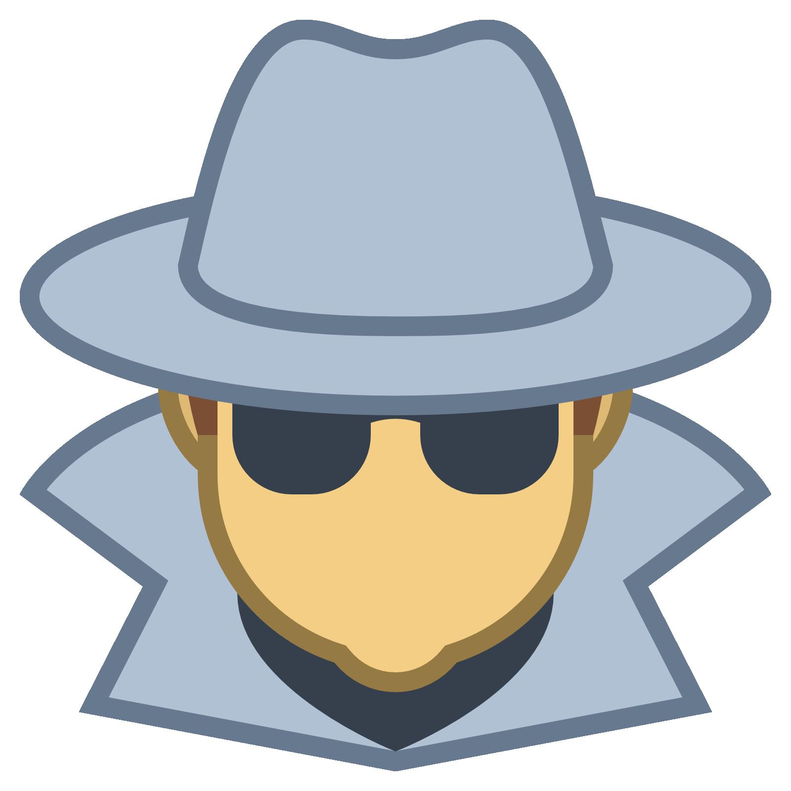 Fedora clipart spy hat. Mobile app spybunker cell