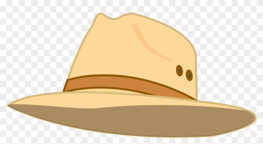 Sun cap straw party. Fedora clipart summer hat