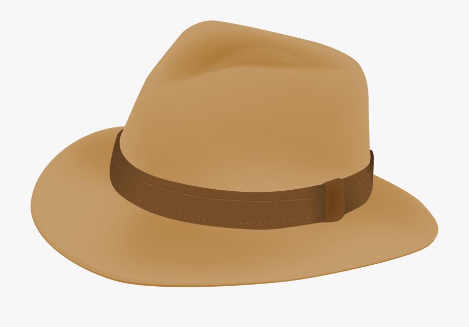 Fedora clipart summer hat. Male png clip art