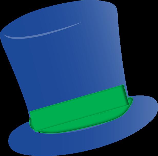 Top cartoon blue books. Mustache clipart bowler hat