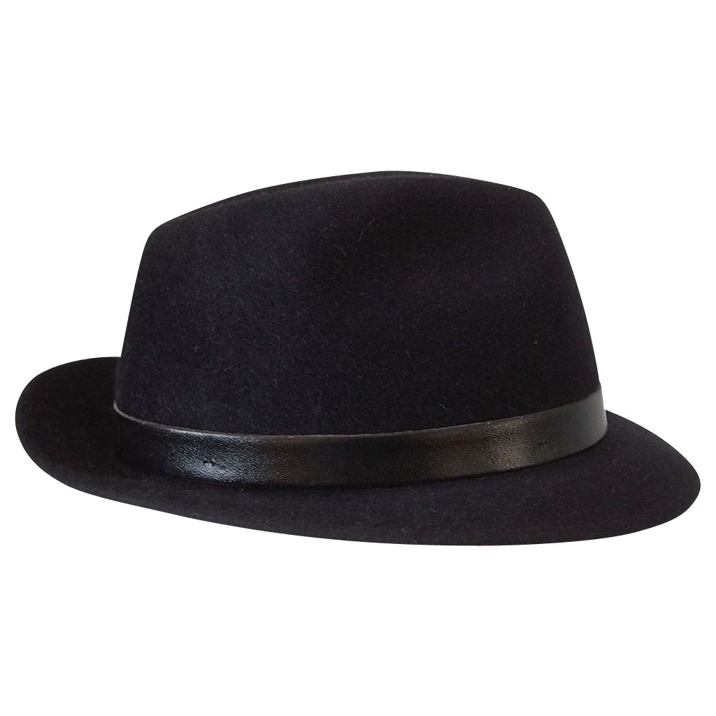 Hat clothing png images. Fedora clipart transparent background
