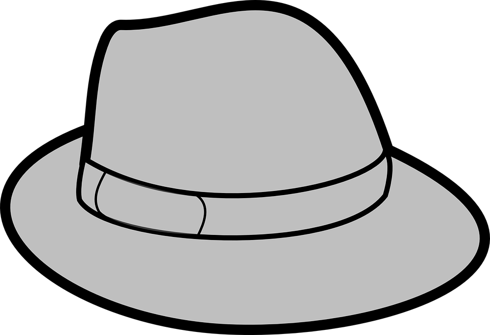 Image result for art. Fedora clipart trilby