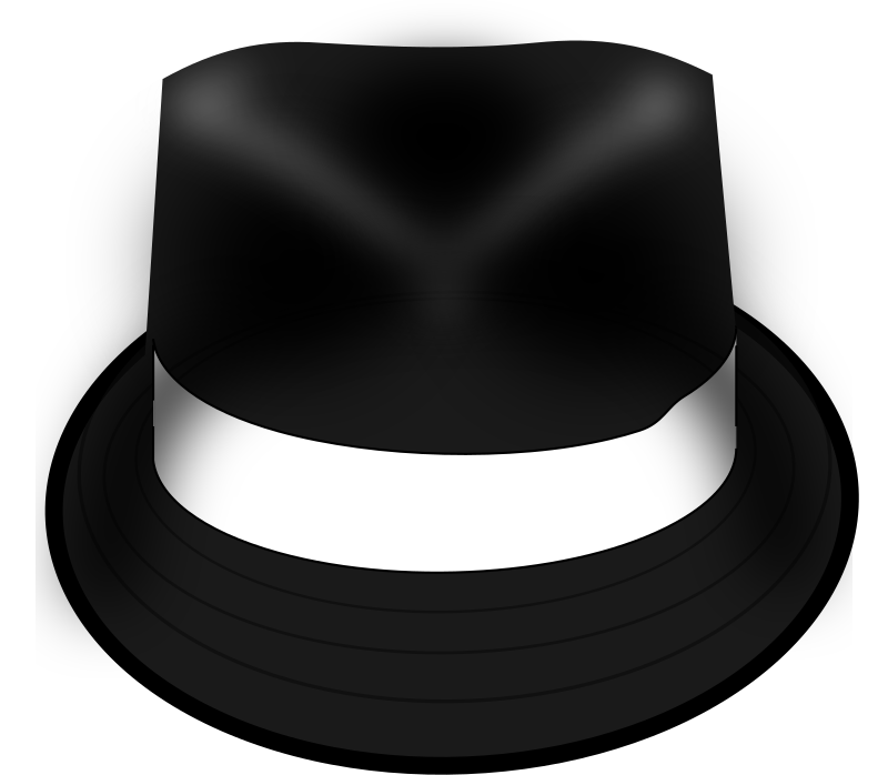 Fedora clipart trilby. Hat medium image png