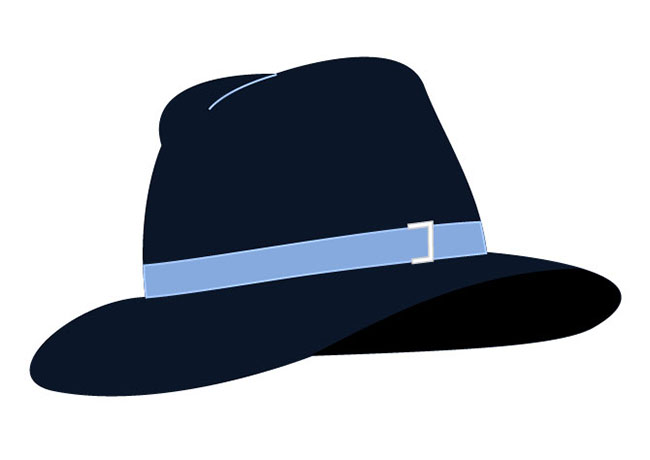 Hat free site download. Fedora clipart vector