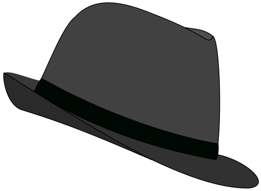 Fedora clipart vector. Free download best on