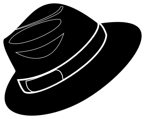 Fedora clipart wedding hat. Free mafia cliparts download
