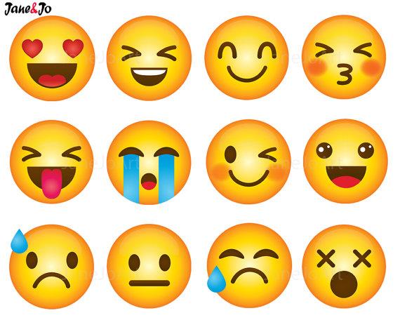 clip art smiley. Bone clipart emoji