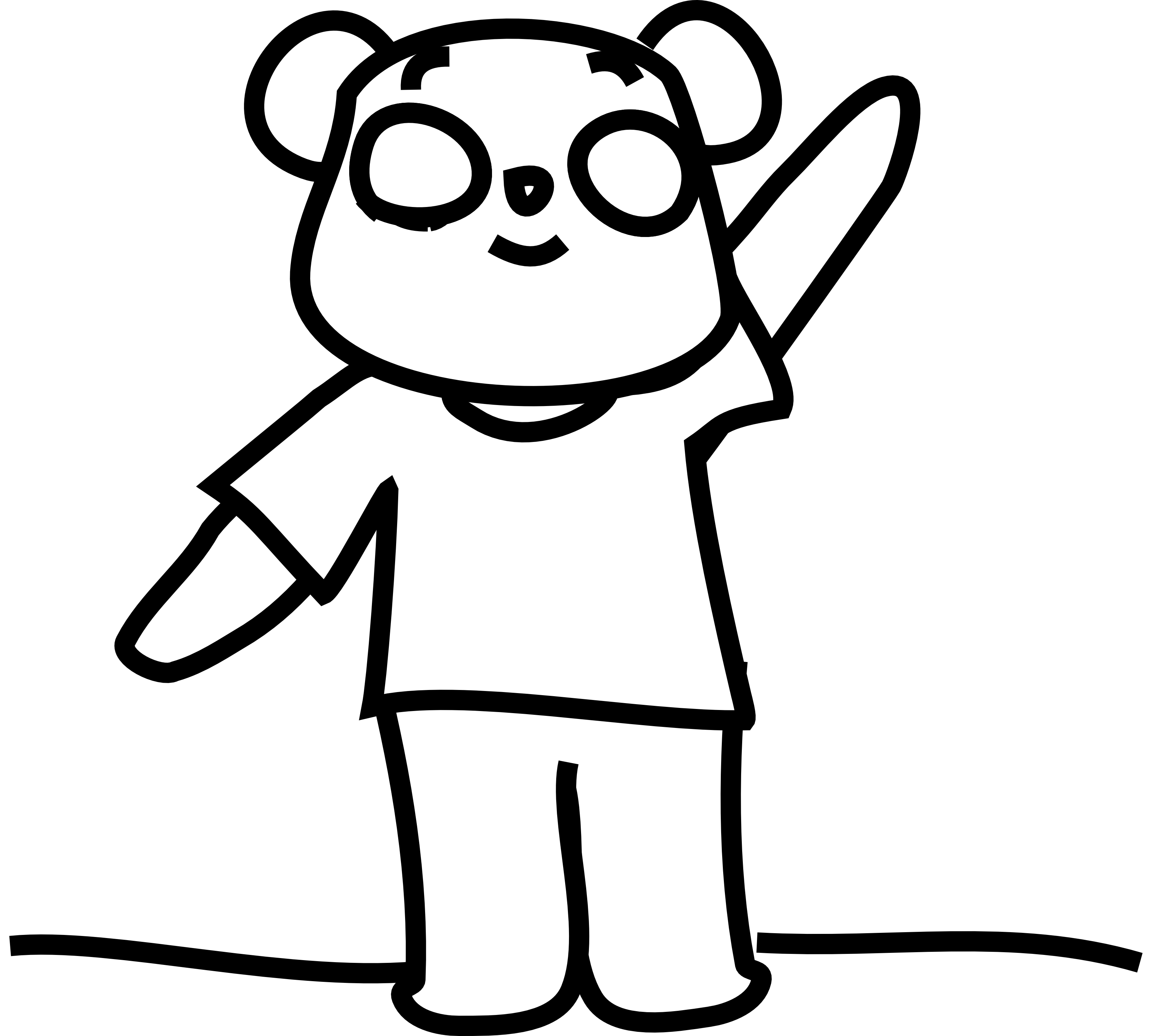 Feelings clipart black and white. Panda face free images