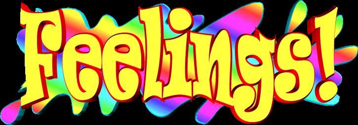 Feelings clipart feeling word. Free download clip art