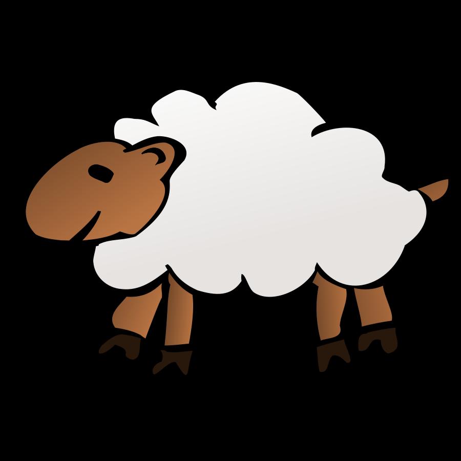 Baa Baa Black Sheep Clipart