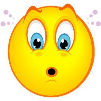 Face emotions clip art. Surprise clipart smiley