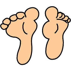 Feet clipart. Free