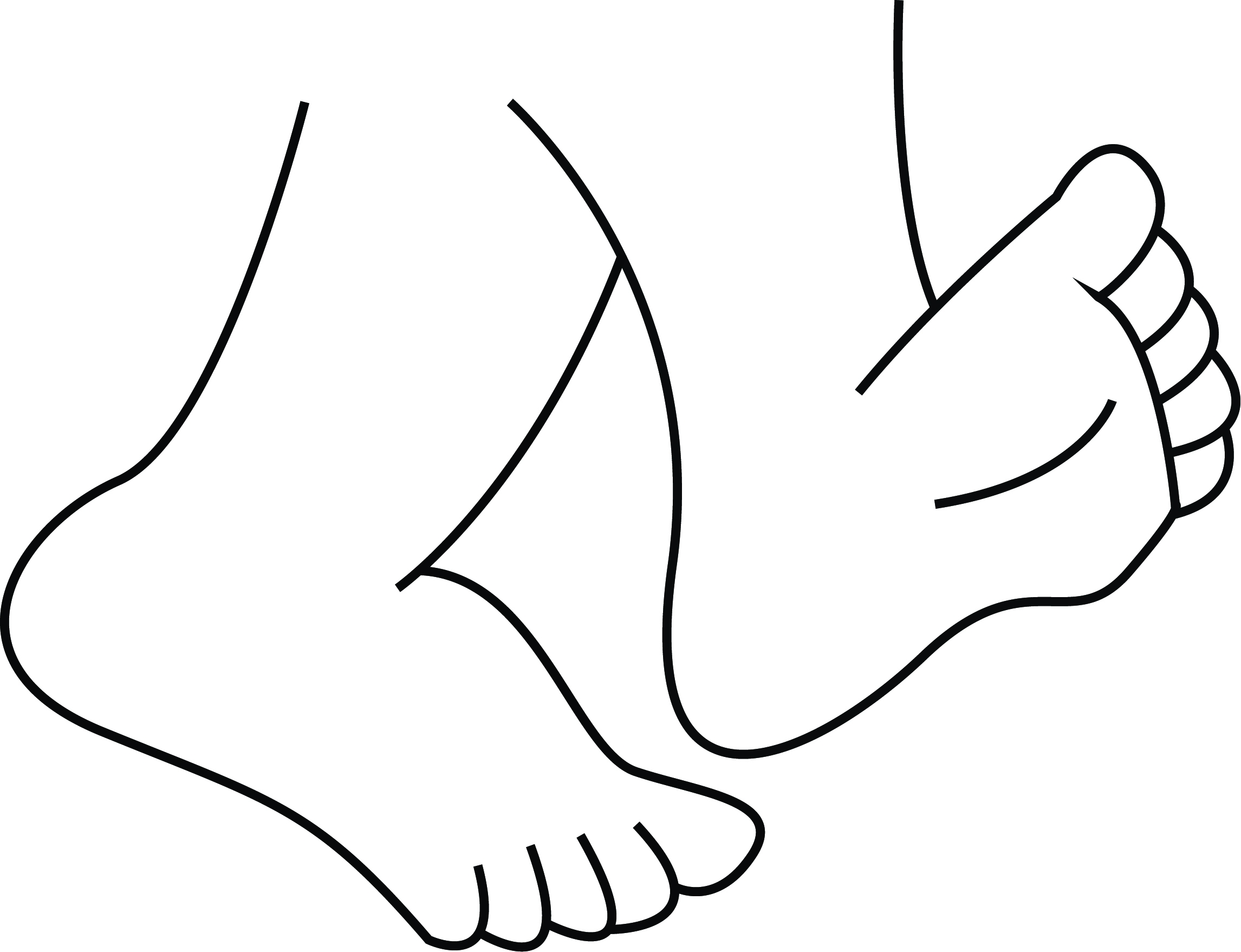 Feet clipart. Best of walking gallery