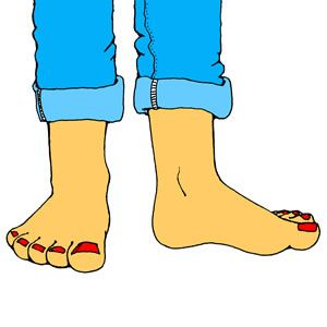 Foot clipart.  best feet images