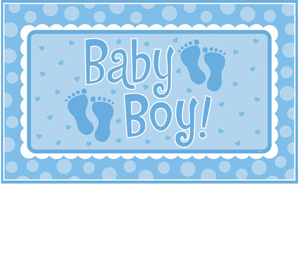 Animal prints candy bag. Footprints clipart baby shower