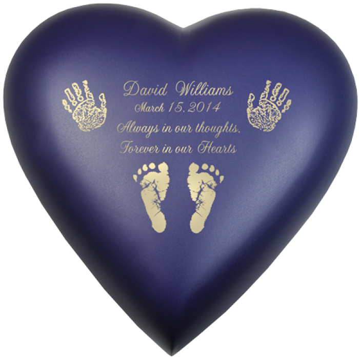 Feet clipart baby heart. Urn brass violet actual