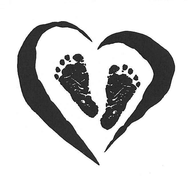 Foot clipart baby heart. Feet clip art library