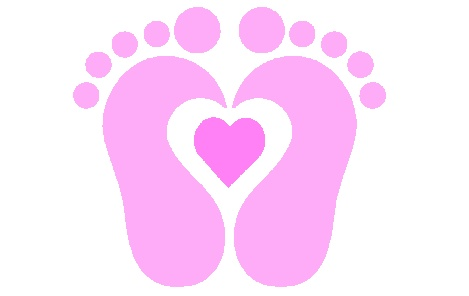 Free download clip art. Feet clipart baby shower