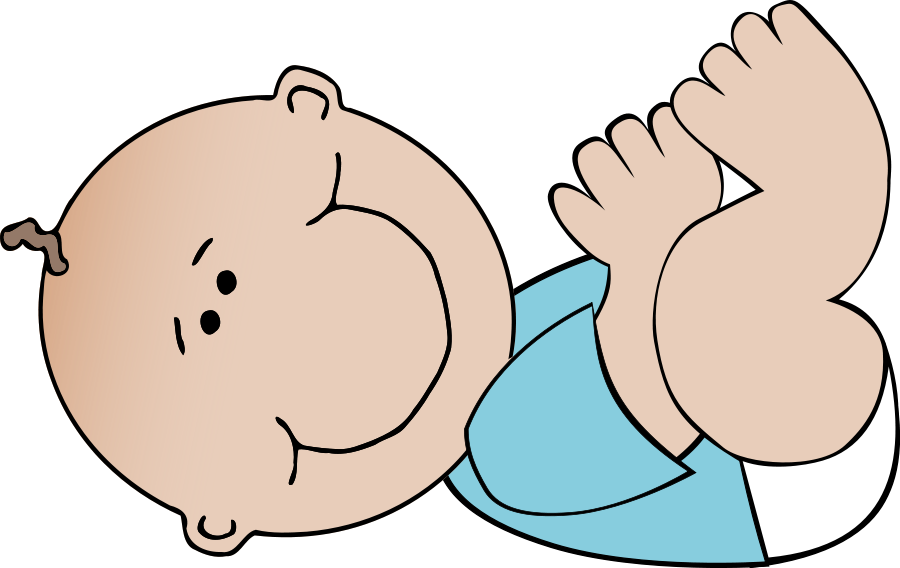 Feet clipart baby's. Free baby vector download