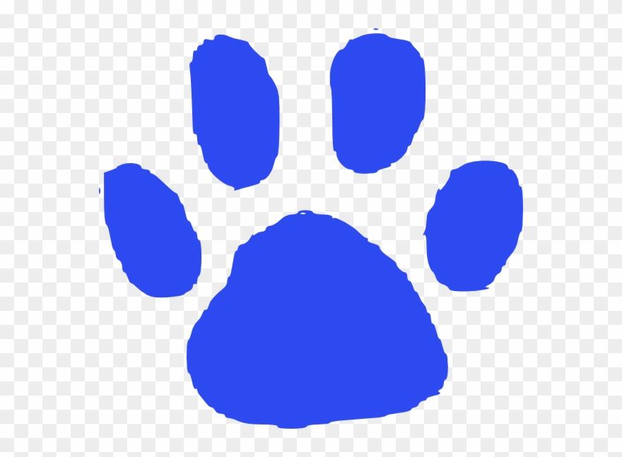 Feet clipart blue foot. Logo animal footprint png