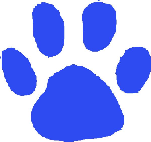 Footprints clipart blue. Foot print clip art