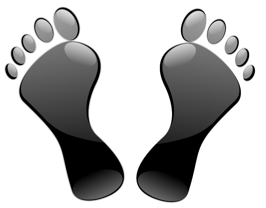 Feet clipart bottom foot.  collection of on