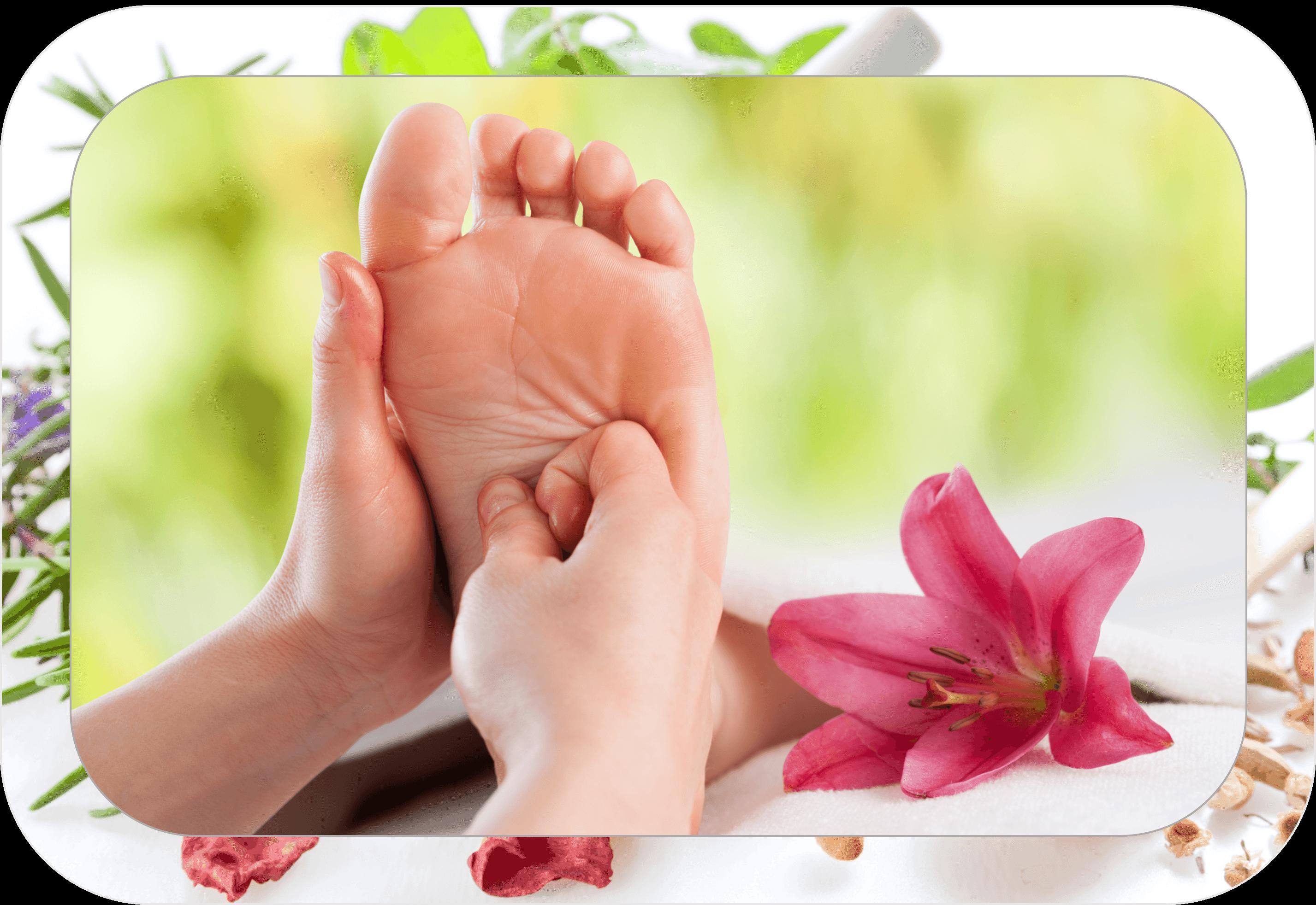 Massage nail salon. Foot clipart clean foot
