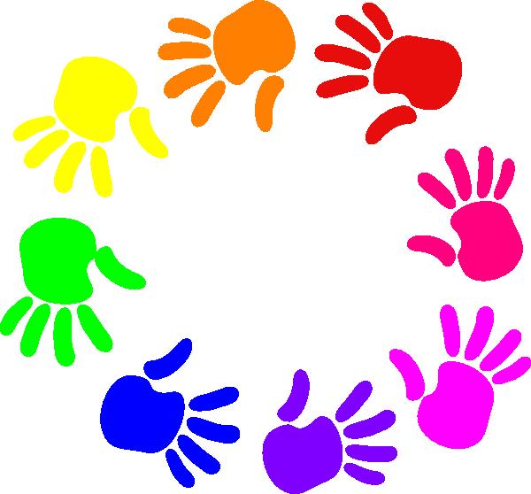 Feet clipart coloured. Hands png clip art