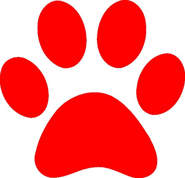 Paw print clip art. Pawprint clipart jaguar