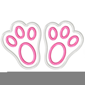 Feet clipart easter bunny. Free images at clker