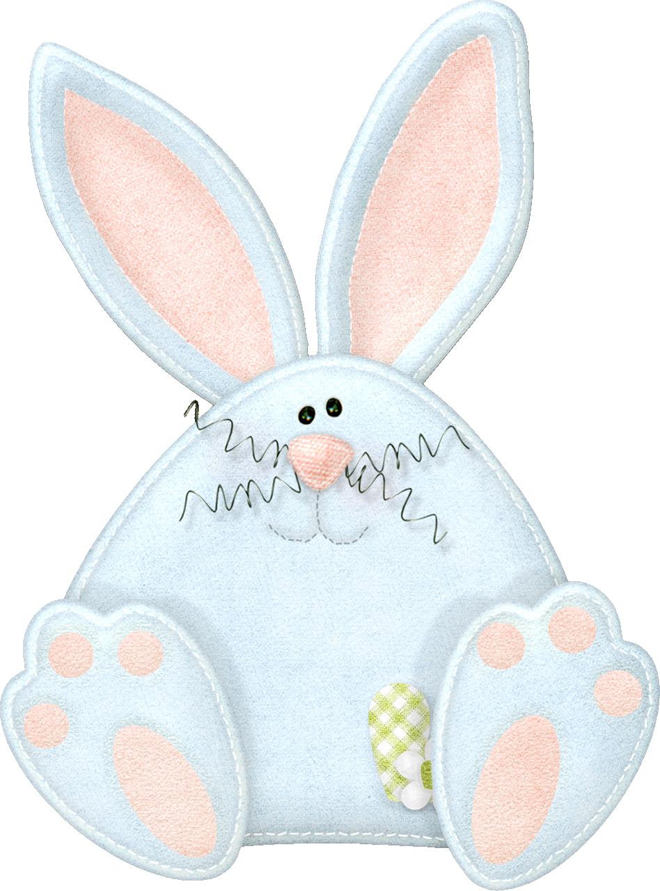 Mis laminas para decoupage. Feet clipart easter bunny