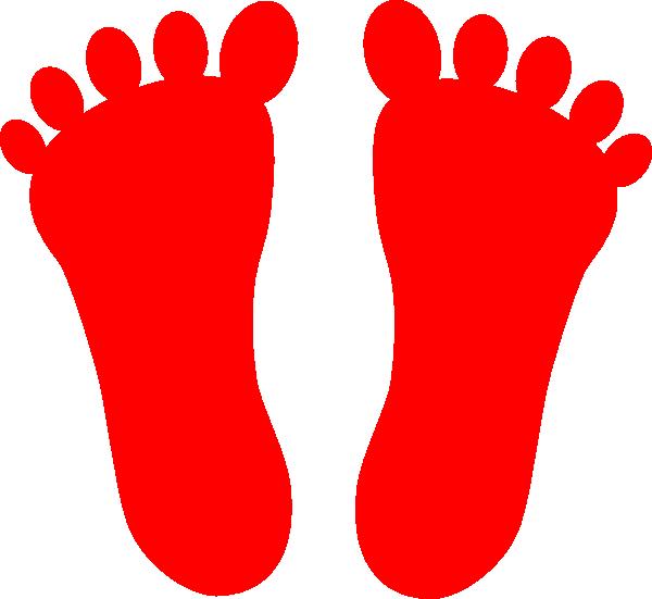 Feet clipart foot design. Footsteps colored frames illustrations
