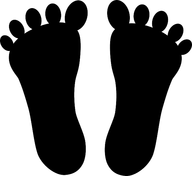 Feet clipart foot shape. How to cure plantar